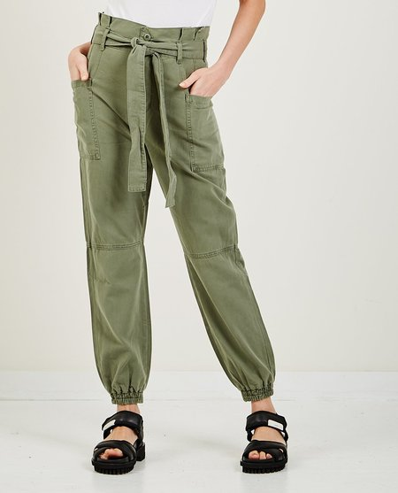 Joe's Jeans Paperbag Utility Jogger - Army Green