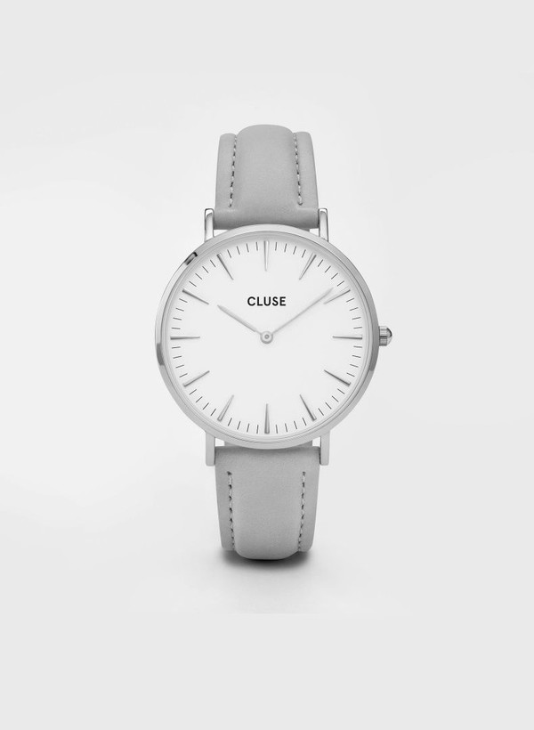 La Boheme Silver Watch Grey