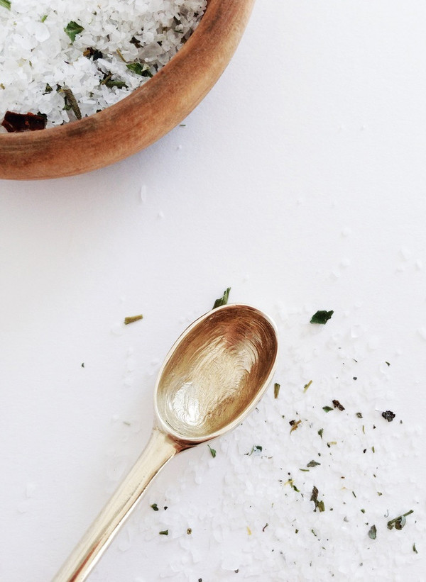 The Things We Keep Small Brass Spoon