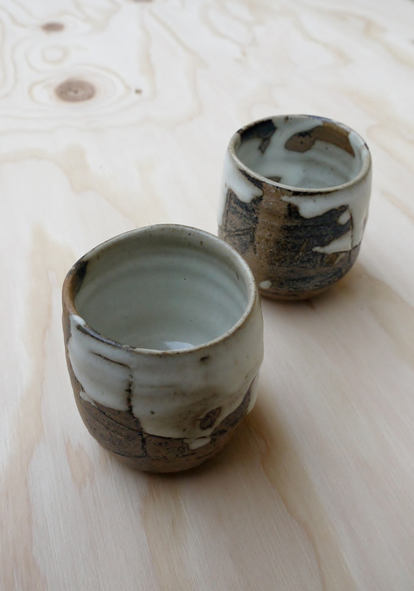 Found + Collected Small Tea Cups
