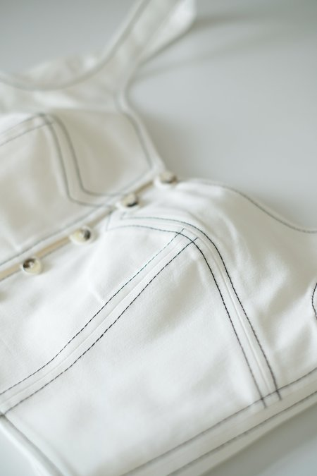 OhSevenDays Ivy Top - White