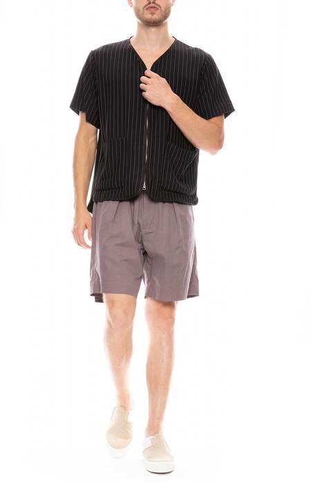 Drifter Hannibal Zip-up Shirt - Black