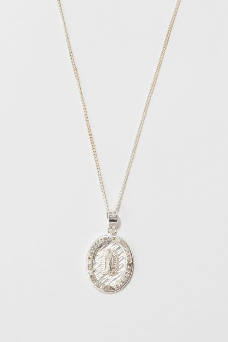 Tuza Jackpot Mary Necklace - Sterling Silver