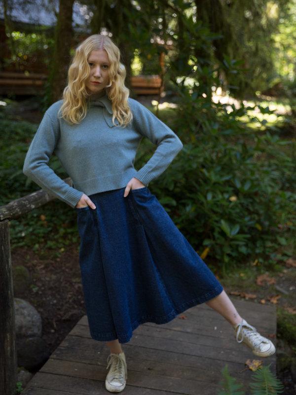 Nikki Chasin Sylvie Mockneck Sweater