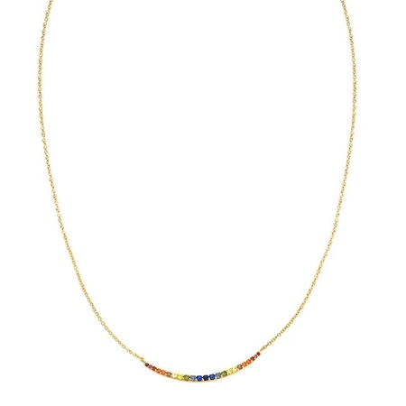 Tai Rainbow Pave Arc - Rainbow