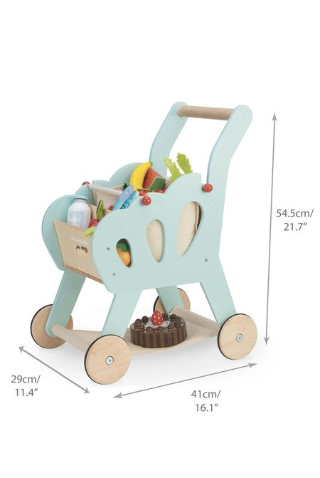 Kids Le Toy Van Shopping Trolley