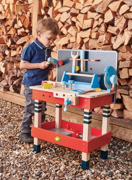 Kids Tender Leaf Toys Tool Bench