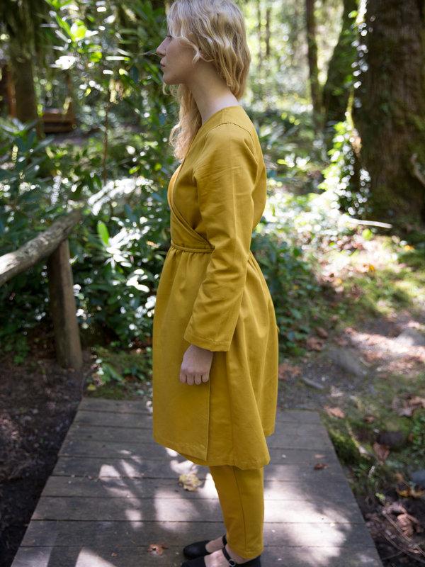 Wrk-Shp Ginger Wrap Dress