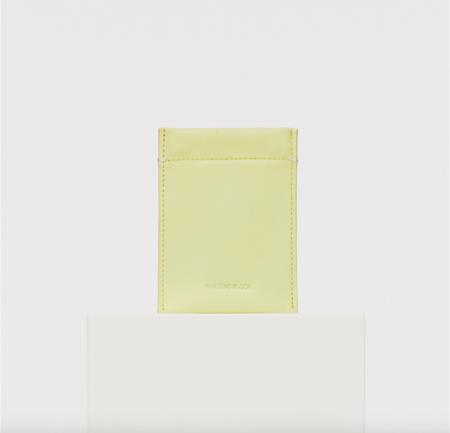 Building Block Slim Card Case - Lemongrass