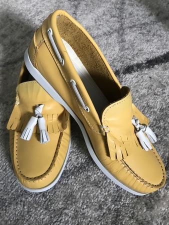 La Paz Galo Boat Shoes - Yellow