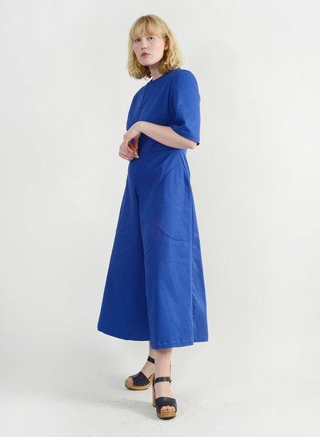 Meg Round Pocket Jumpsuit - Royal