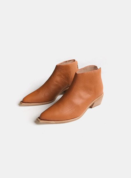 Wal & Pai West Bootie - Burnt Sienna