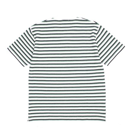 Norse Projects Johannes Border Tshirt - Stripe Taupe