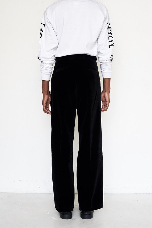 Men's Our Legacy Velvet Sailor Pants