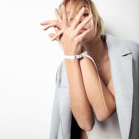 Domestique Tighten Bracelet and Choker Ties - Black or Transparent