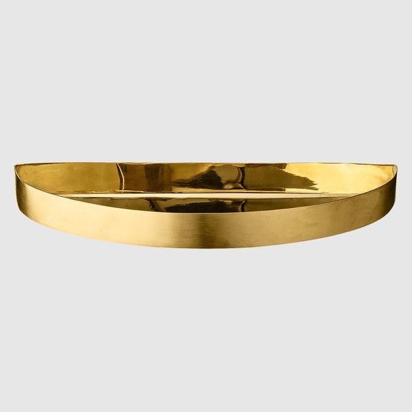 "AYTM ""Unity"" Tray with Brass and Navy Tray Insert"