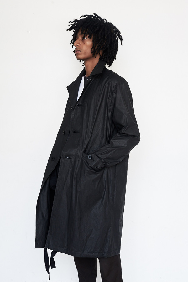 Men's Our Legacy Coated Cotton Carcoat