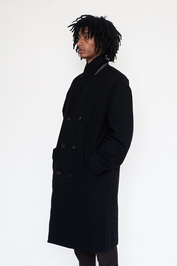 Men's Robert Geller Wool DB Coat