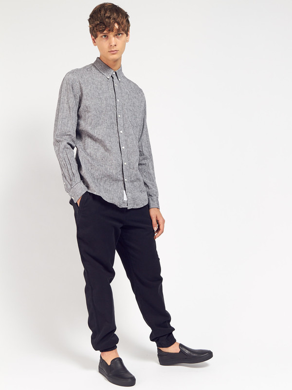 Men's Schnayderman Leisure Linen Shirt