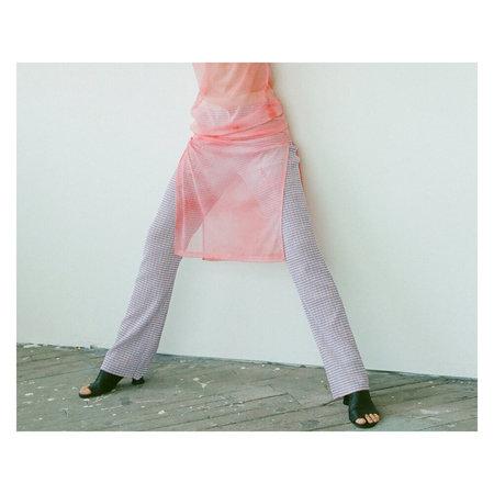 NOMIA Long Knit Pant - Blue/Pink