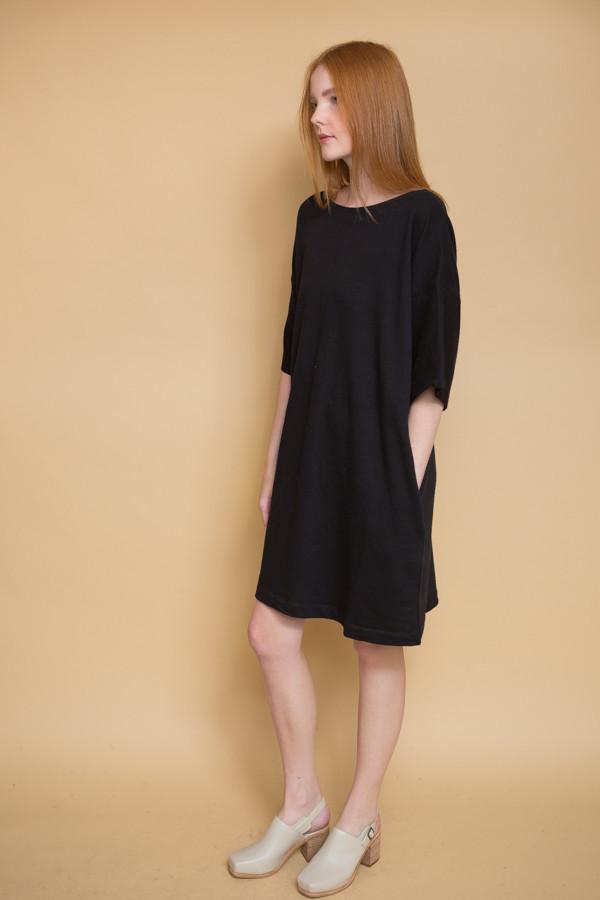 Kowtow Snap Shot Dress - Black