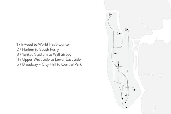Shahla Karimi 14K Gold Subway Fine Ring - Yankee Stadium to Wall St