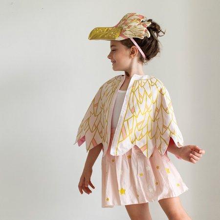 Kids lovelane designs the stork cape & hat set