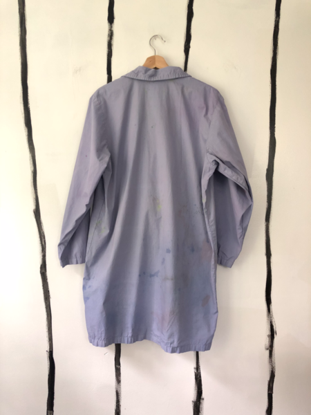 Unisex Audrey Louise Reynolds CHORE COAT - ACTIVATED CHARCOAL/MICA/BERRIES