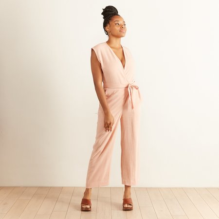 Eve Gravel Au Salon Jumpsuit - Litchi