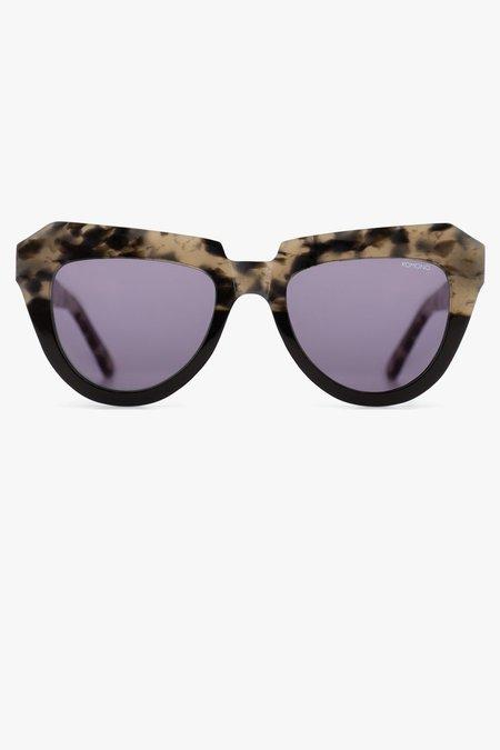 KOMONO Stella Sunglasses - tortoiseshell/black