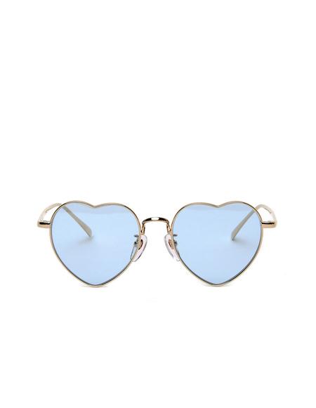 Undercover Heartshaped Sunglasses - Blue