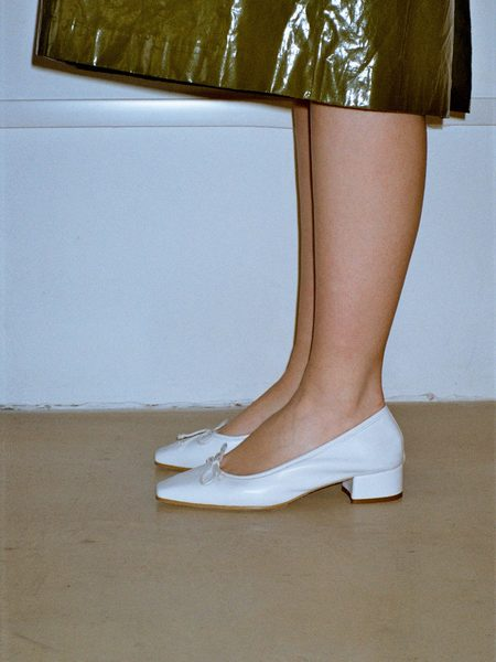 About Arianne Mina Heels - White