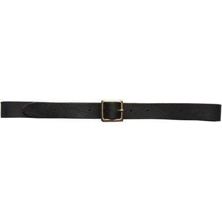 Girls of Dust Leather Belt - Black