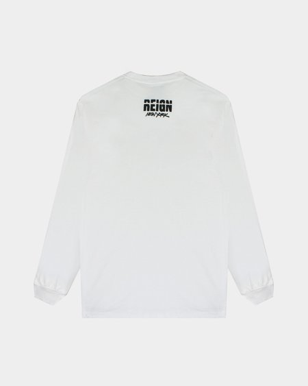 REIGN x Joshua Vides Cup LS Tee - White