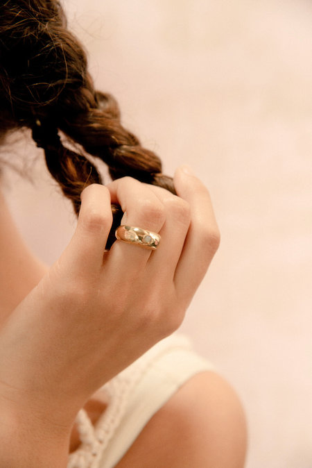 Eyde opal Naomi ring