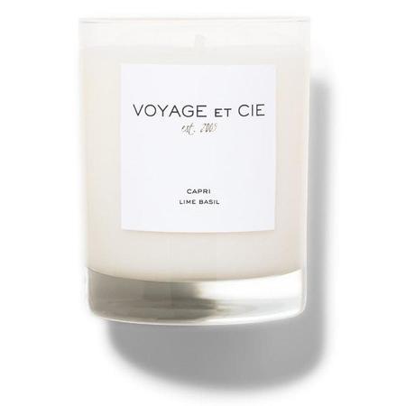 Voyage Et Cie Lime Basil Candle