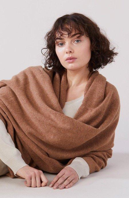 Laing Home The Napper Cashmere Blanket - Whiskey