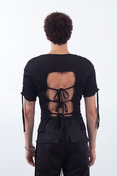 TRANSE Paris Open Back T-Shirt