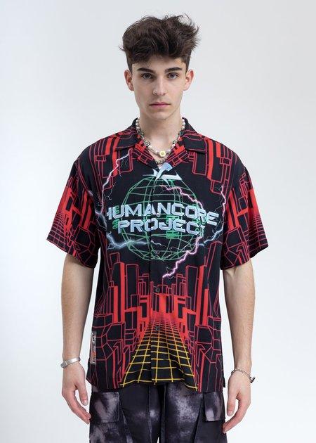 LXVI Human Core Shirt - Black/Red