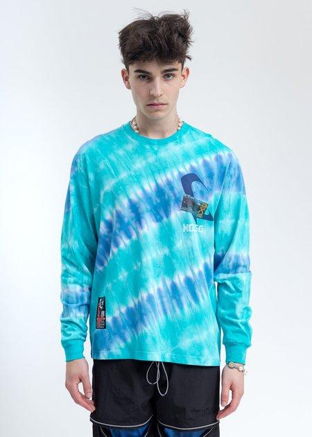 LXVI Long Sleeve - Blue Tie Dye