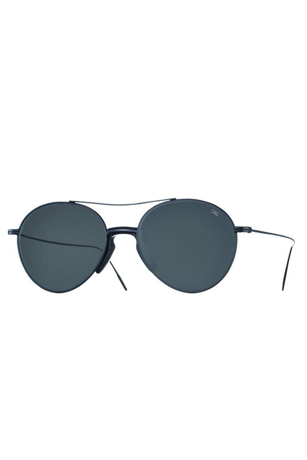 Men's Eyevan7285 Metal Model 716 Sunglasses - Grey