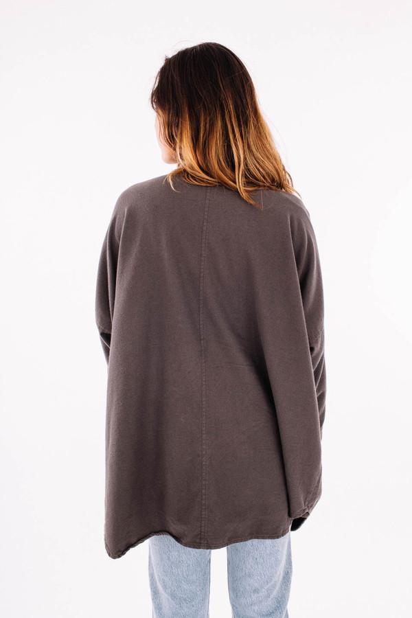 Black Crane Square Shirt (Dark Shadow)