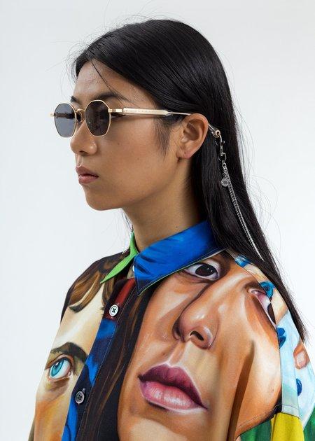 Études Studio Liberté Sunglasses With Chain