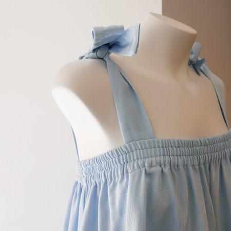 BATSHEVA Amy Dress/Skirt - Blue Moiré