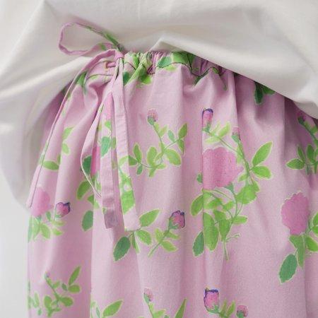 BERNADETTE Balloon Skirt - Pink Roses