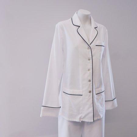 Olivia Von Halle Coco Pyjama Set in Cotton