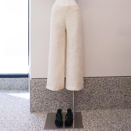 On Atlas Linen Pants - Crudo