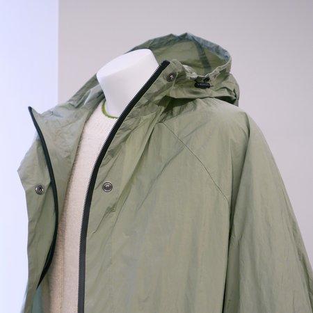 KASSL EDITIONS Long Tafta Coat - Green Sage