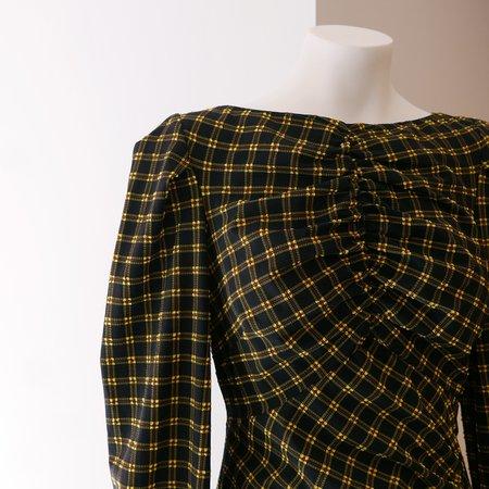 Rachel Comey Proposition Dress - Stretchy Plaid Black