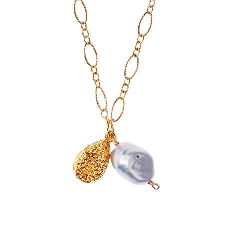 Alighieri The Solitary Tear at Dusk Necklace